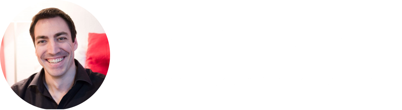 Gedächtnistrainer – Fabian Saal